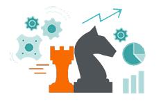 Schachfiguren als Synonym für Backlink-Strategien
