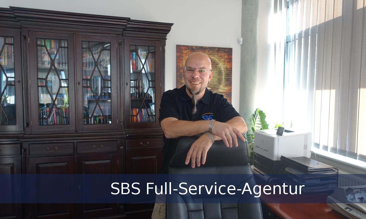 Bild zeigt den CEO der SBS Full-Service-Agentur